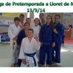 El judo de Molins de Rei fa un stage a Lloret de Mar