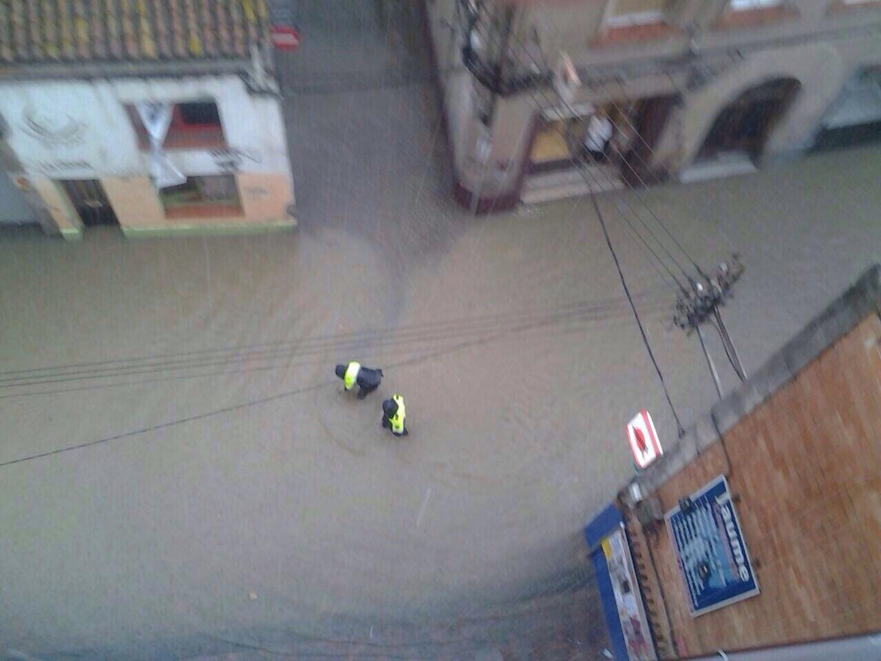 El carrer Rafel Casanova dimarts 30