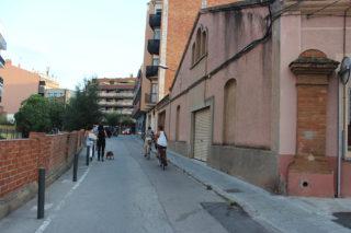Imatge del carrer Bruc tal i com està ara // Jose Polo