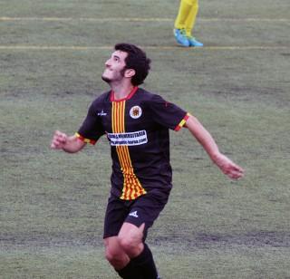 Quim Oyón, un dels millors del partit, en un moment de la segona // Jose Polo