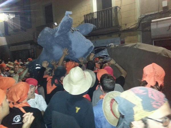 Els responsables del Camell han intentat solucionar el problema sense èxit // Toni Zapata