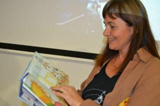 Anna Zamora, autora del llibre // Elisenda Colell