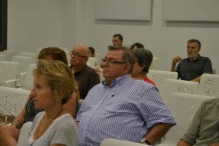 Lluís XXX, d'ICV, va assistir a l'acte // Elisenda Colell