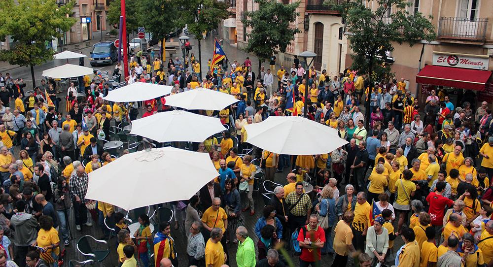 La manifestació al seu inici // Jose Polo