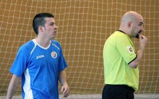 Dani Ramos, autor de l'únic gol del CFS Molins 99 // Jose Polo