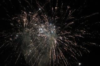 Imatge del castell de focs de la Festa Major 2014 // Jose Polo