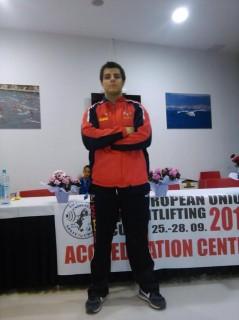 Marcos Ruiz després d'una de les últimes competicions // CH Molins de Rei