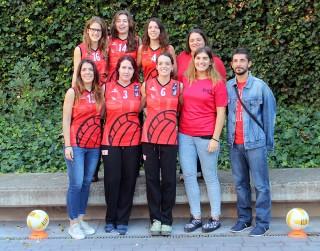 El primer equip de l'AE Molins el dia de la presentació // Jose Polo