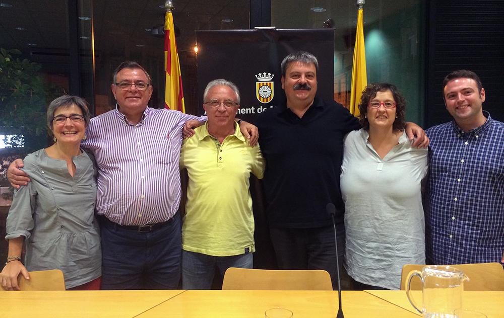 Duran, Carrasco, García, Arcas, Ferrer i Conde, els regidors d'IxMdR en aquest mandat // Iniciativa