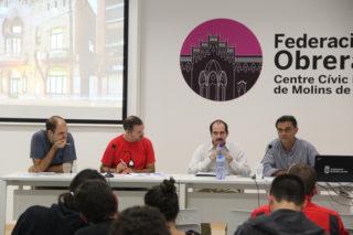 Josep Raventós, Eloi Badia, Jordi Giró i Sergi Alegre // Jordi Julià