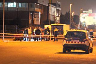 La policia científica va estudiar el lloc on es va trobar el cos durant hores abans de l'aixecament del cadàver // David Guerrero