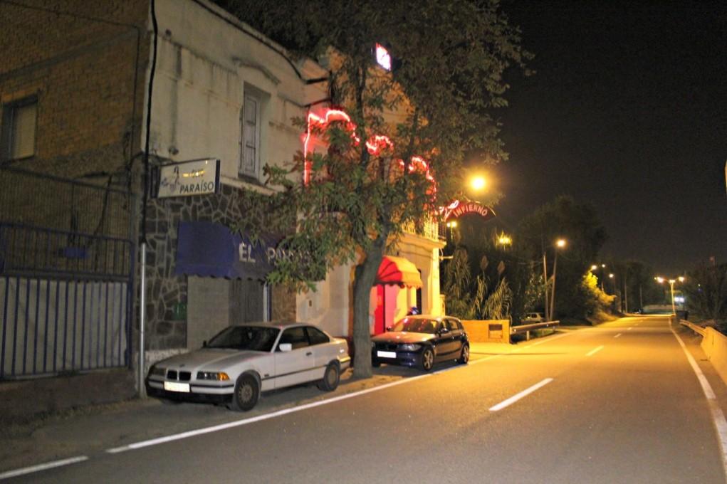 El tiroteig es va produir a la sortida del club Infierno, on antigament es trobava el club Paraíso // David Guerrero
