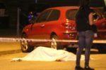 El cos de la víctima s'ha trobat tot just davant l'entrada de la discoteca Ei Two // David Guerrero