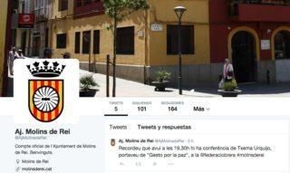 Imatge del compte de l'Ajuntament de Molins de Rei a Twitter // Viu Molins de Rei