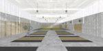Recreació de la sala on es farà halterofília i judo // Ajuntament de Molins de Rei