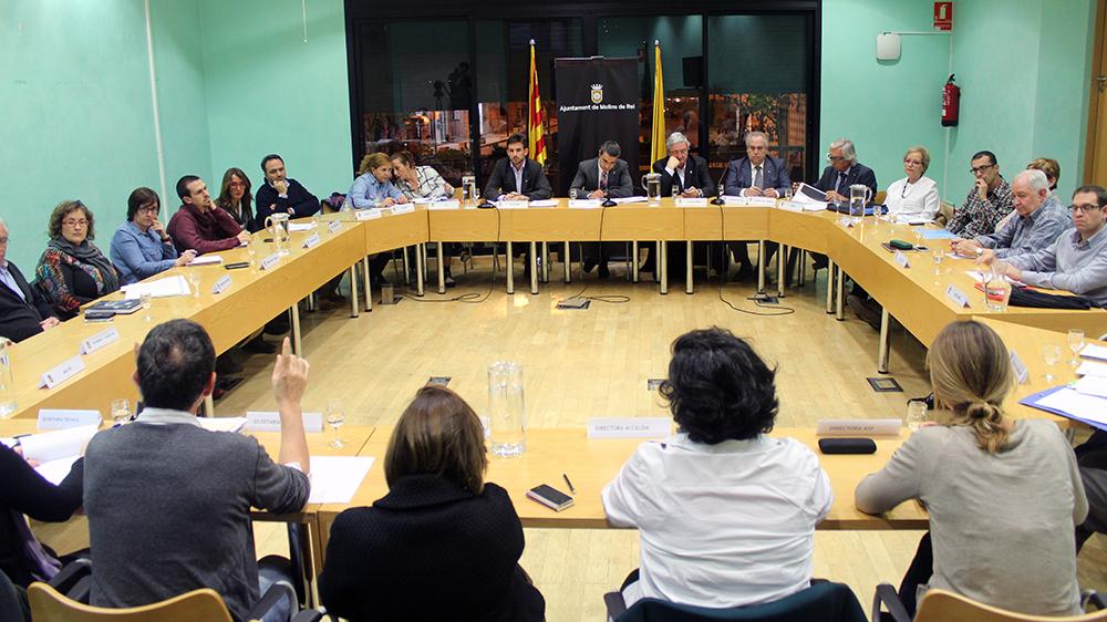 Imatge de l'últim plenari del Consell de Seguiment de la Crisi // Jose Polo