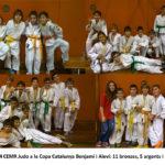 El judo de Molins de Rei aconsegueix 5 ors a la Copa Catalana benjamí i aleví