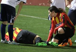 El Molins de Rei CF va ensopegar // Jose Polo