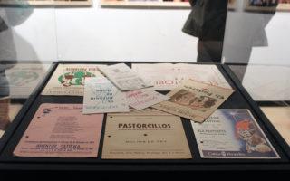 Programa de mà en castellà que es pot veure a l'exposició //Jose Polo