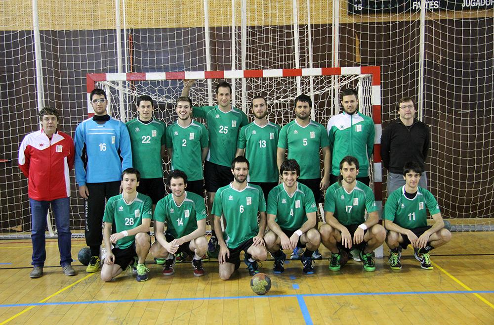 Foto d'equip del CE Molins de Rei 2014-2015 // Jose Polo