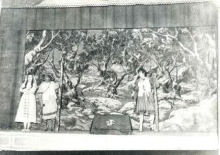 Imatge d'una representació dels anys 50 // Pastorets de Molins de Rei