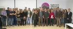 Foto de grup entre premiats i esportistes // Ajuntament de Molins de Rei