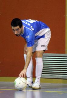 Rubén García es va haver de retirar per lesió // Jose Polo