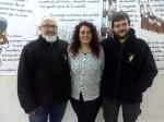 David Fernández, Yolanda Fernández i Salva Prat // Matossers