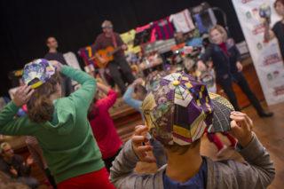 Instant de la festa infantil feta al Foment Cultural i Artístic // Ajuntament de Molins de Rei