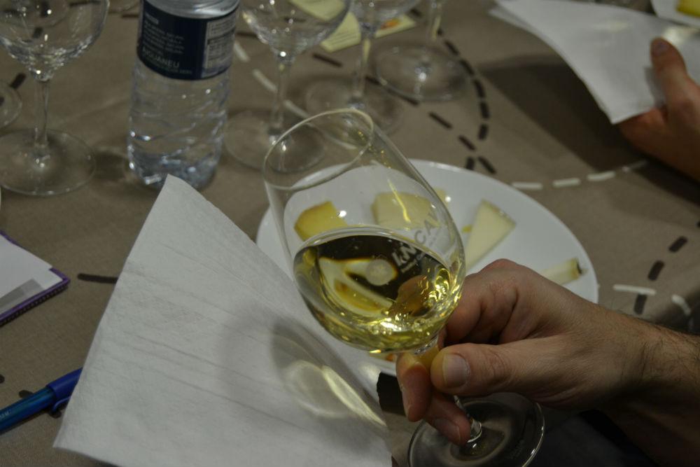 Els vins, els principals protagonistes dels tastos // Elisenda Colell