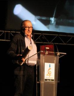 Alfred Bofill adreçant-se al públic // Jose Polo