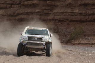 Xavi Foj superant la tercera etapa del Dakar 2015 // Foj Motorsport