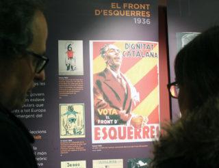 Un dels cartells que es pot veure a l'exposició // Jose Polo
