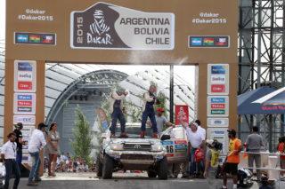 Xavi Foj i Nacho Santamaría al podi de Buenos Aires // Foj Motorsport Coopertires