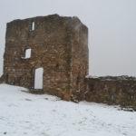 La neu es fa present a la part alta de Molins de Rei sense provocar incidències