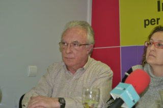 Pere Garcia es presenta com a possible cap de llista // Elisenda Colell