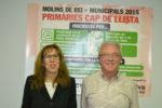 Els dos candidats a l'alcaldia es batran en un procés de primàries // Elisenda Colell