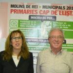 Josefina Pérez i Pere Garcia es presenten a les primàries d'Iniciativa