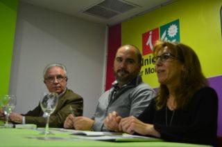 L'alcaldable per Conellà, Arnau Funes, va moderar el debat // Elisenda Colell