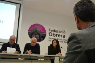 L'alcalde, Joan Ramón Casals, ha estat convidat a la presentació // Elisenda Colell