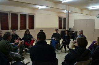 La primera assemblea s'ha dut a terme a l'AAVV del barri del Canal // Elisenda Colell