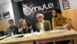 D'esquerra a dreta: Romeu, Castellana, Farràs i Botran a l'Ateneu Mulei // Jose Polo