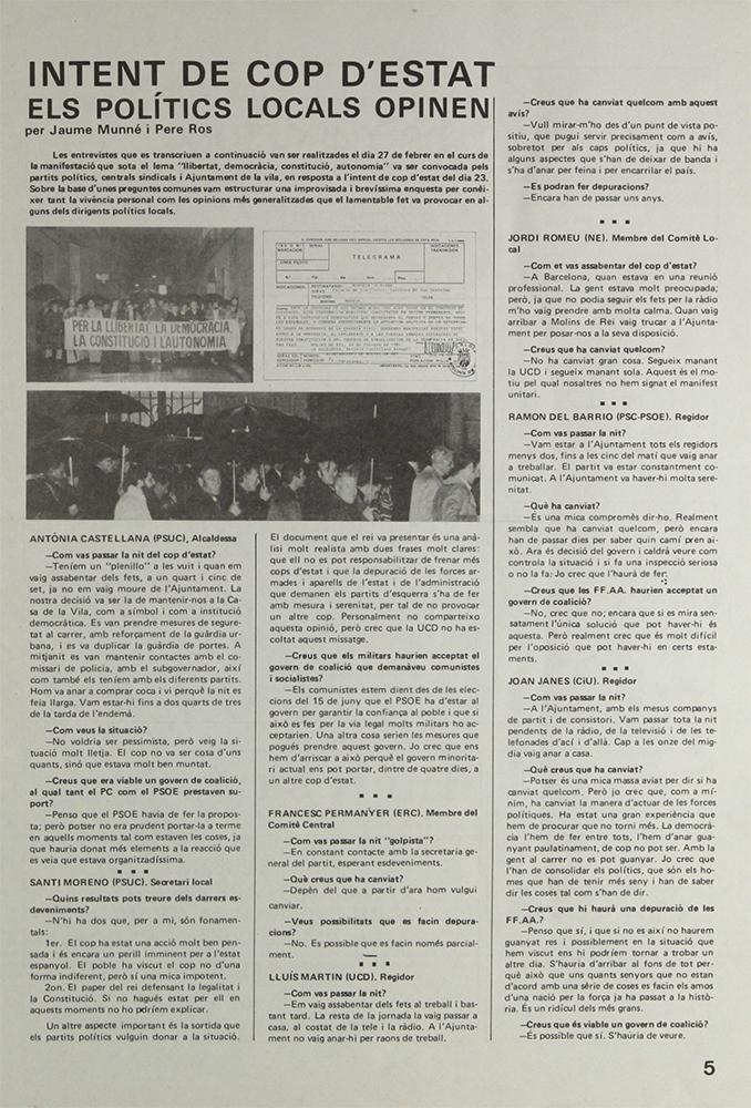 Crònica d'El Llaç de la manifestació del 27 de febrer // El Llaç
