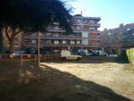 Els terrenys del carrer del Moli estan a tocar del parc de la tirolina // Elisenda Colell