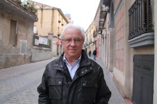 Pere Garcia al Carrer Major // Iniciativa per Molins de Rei