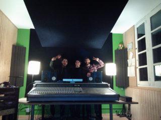 Els membres de Rondan Rot al seu estudi // Rondan Rot