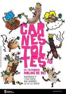 El cartell del Carnestoltes 2015 // Elisenda Colell