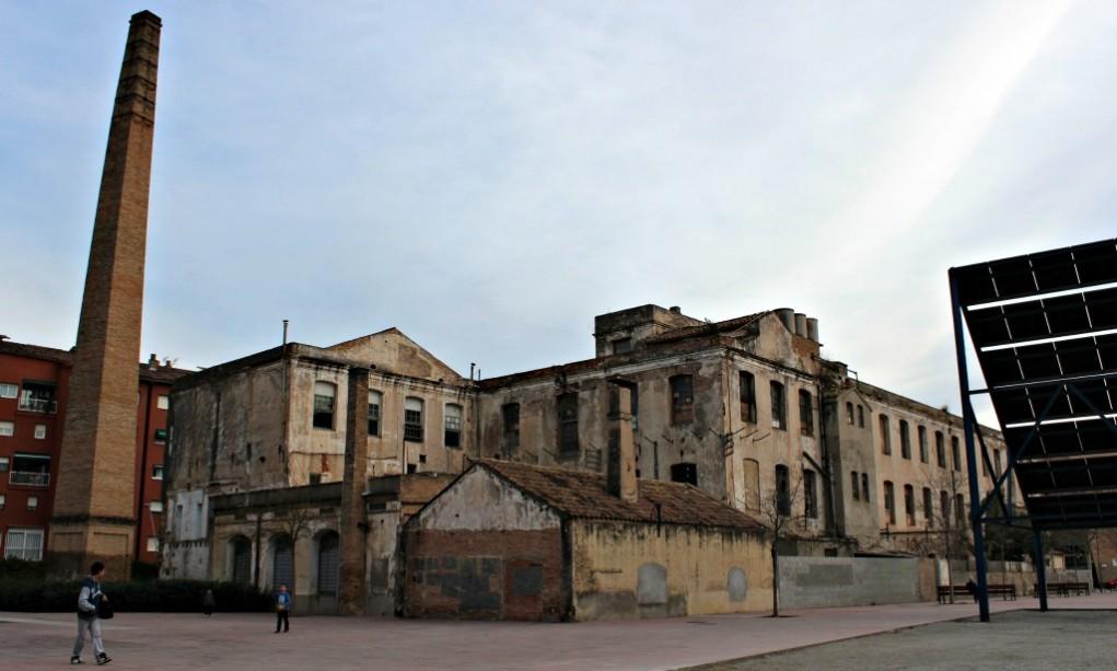 Edifici del Molí, on es farà la nova biblioteca // Jose Polo