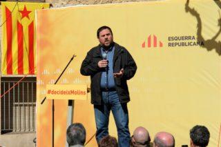 Oriol Junqueras ha posat Sant Vicenç dels Horts com exemple constantment // David Guerrero