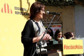 Sílvia Guillén ha fet un discurs sòlid, preparat i amb contingut // David Guerrero